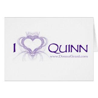 Quinn Greeting Card