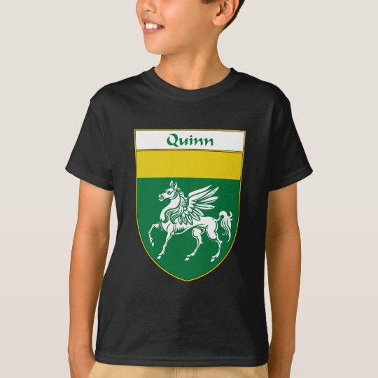 Quinn Coat of Arms/Family Crest T-Shirt