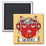 Quinn Coat of Arms Magnet