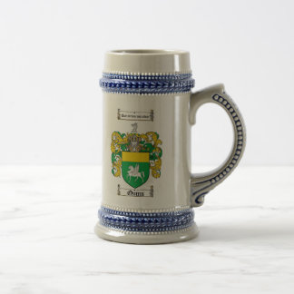 Quinn Coat of Arms Stein 18 Oz Beer Stein