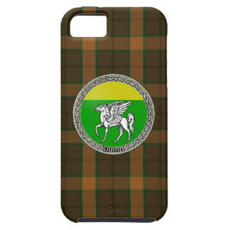 Quinn Family Badge iPhone 5/5S Case with Tartan