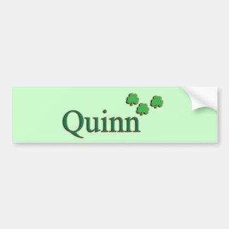 Quinn Family Bumper Sticker