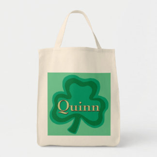 Quinn Family Grocery Tote Bag