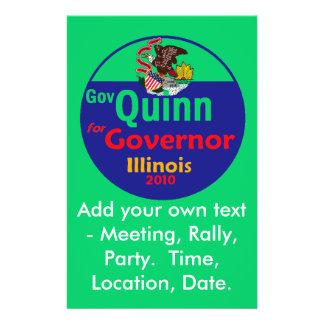 QUINN Governor Flyer