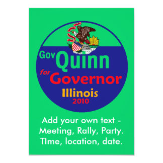 QUINN Illinois Invitation
