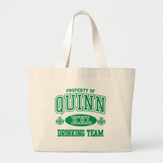 Quinn Irish Drinking Team Canvas Bag
