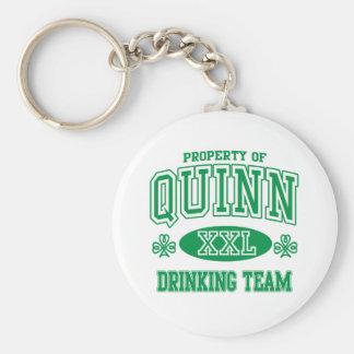 Quinn Irish Drinking Team Key Chains