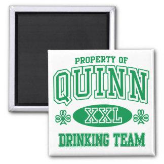 Quinn Irish Drinking Team Magnet