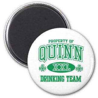 Quinn Irish Drinking Team Refrigerator Magnets