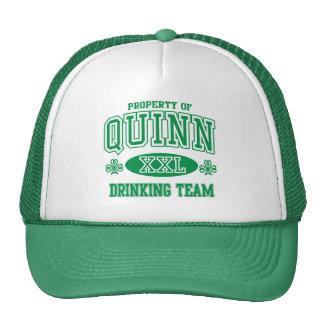 Quinn Irish Drinking Team Trucker Hat