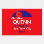 Quinn Mayor 2013 Lawn Signs