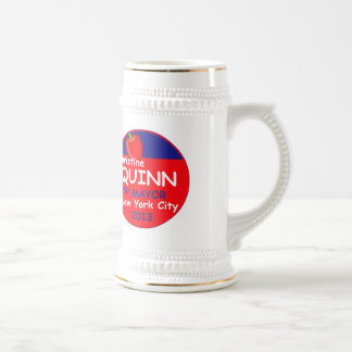 Quinn NYC Mayor 2013 Beer Stein