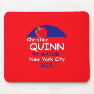 Quinn NYC Mayor 2013 Mouse Pad