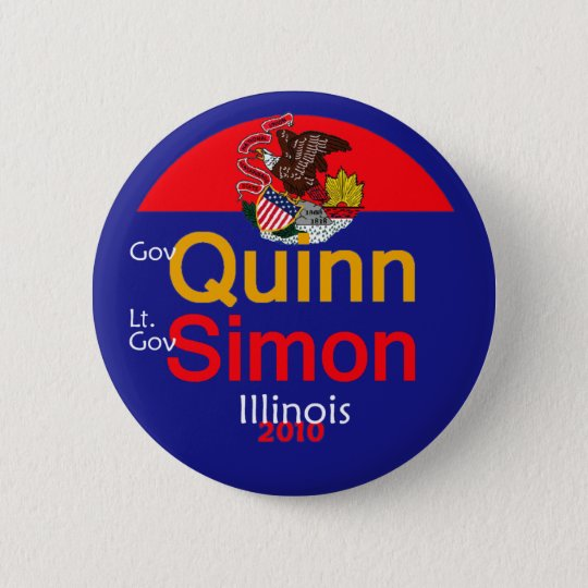 QUINN SIMON Illinois Button