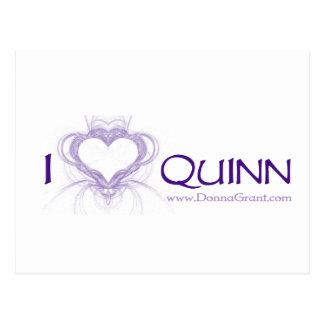 Quinn Tarjeta Postal
