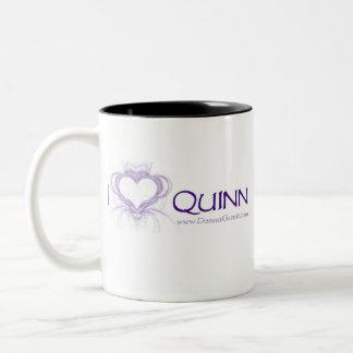 Quinn Taza De Café De Dos Colores