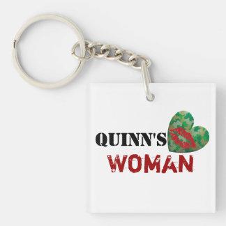 Quinn's Woman Keychain