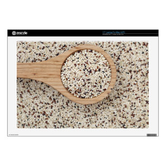 Quinoa with Wooden Spoon Decals For Laptops