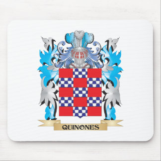 Quinones Coat of Arms - Family Crest Mouse Pad