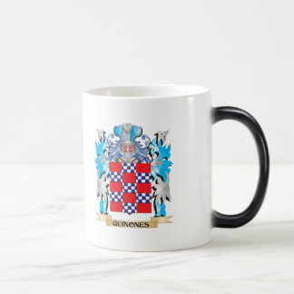 Quinones Coat of Arms - Family Crest 11 Oz Magic Heat Color-Changing Coffee Mug