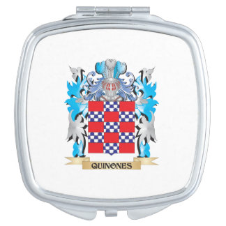 Quinones Coat of Arms - Family Crest Compact Mirrors