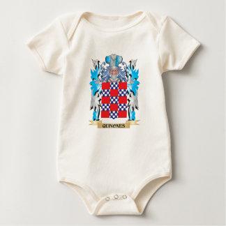 Quinones Coat of Arms - Family Crest Romper