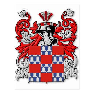 Quinones Coat of Arms Postcard