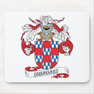 Quinones Family Crest Mouse Pad