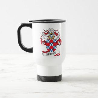 Quinones Family Crest 15 Oz Stainless Steel Travel Mug
