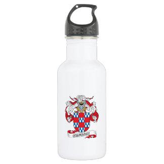 Quinones Family Crest 18oz Water Bottle