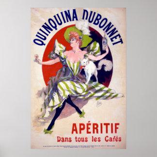 Quinquina Dubonnet Aperitif Poster