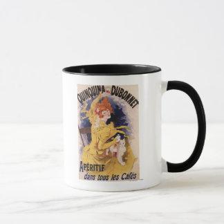 Quinquina Dubonnet Aperitif Promotional Poster Mug