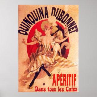 Quinquina Dubonnet Jules Cheret Fine Art Poster