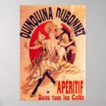 Quinquina Dubonnet Jules Cheret Fine Art Print