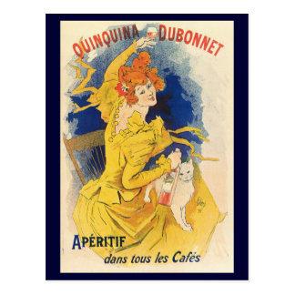 Quinquina Dubonnet, Jules Chéret Postcard