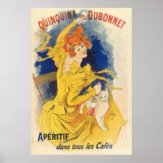 Quinquina Dubonnet, Jules Chéret Poster
