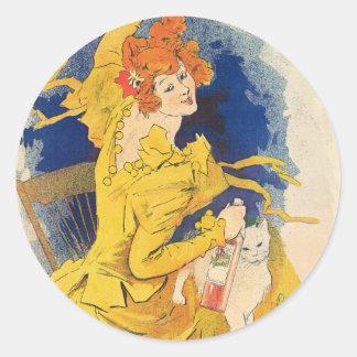 Quinquina Dubonnet, Jules Chéret Stickers