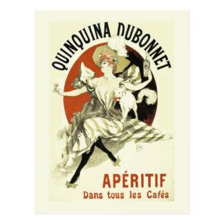 Quinquina Dubonnet Liqueur France Postcard