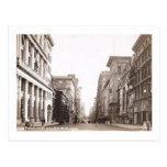 Quinta avenida., 37.o St., vintage de New York Tarjetas Postales