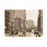 Quinta avenida., 38.o St., vintage de New York Tarjeta Postal