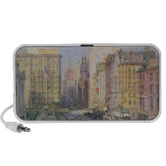 Quinta Avenida, Nueva York, 1913 Laptop Altavoces