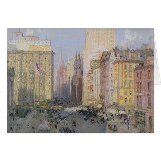 Quinta Avenida, Nueva York, 1913 Tarjeta De Felicitación