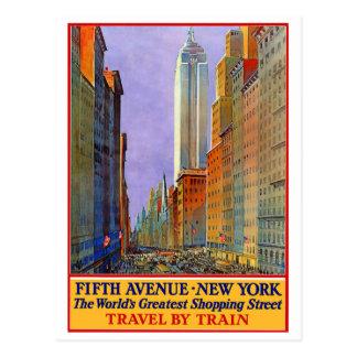 Quinta Avenida - Nueva York Tarjeta Postal