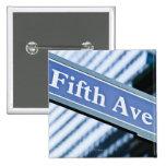 Quinta Avenida Pin Cuadrada 5 Cm