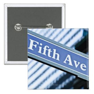 Quinta Avenida Pin Cuadrado