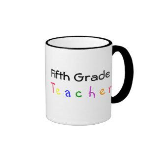 Quinta taza del profesor del grado