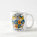 Quintana Family Crest Coffee Mugs