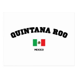 Quintana Roo Block Postcard