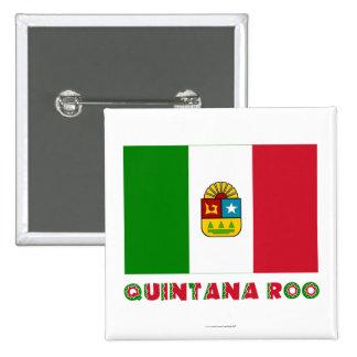 Quintana Roo Unofficial Flag Pin