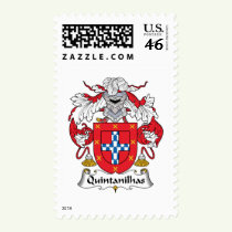 Quintanilhas Family Crest Stamps